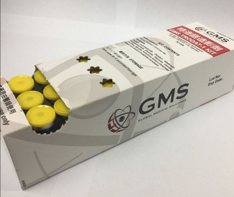 GMS TRODAT-1 is now available in a 30-vial kit